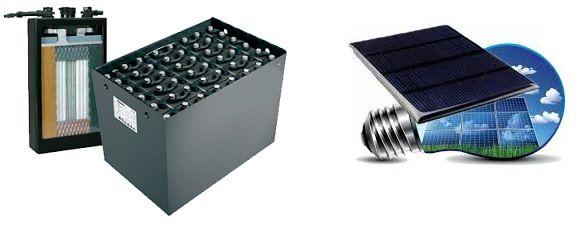 Baterii pentru stivuitoare si panouri solare Iasi