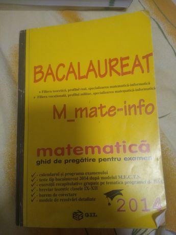 Cărți pt BAC mate-info și romana