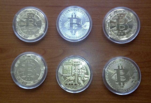 Moneda decorativa Bitcoin