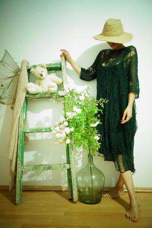 Rochie unicat Knitted Lullaby by Iulia Marinescu