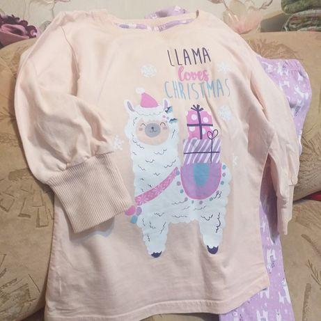 Продам новую пижаму для девочки или обменяю