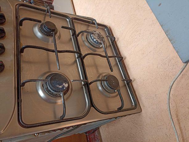 Кухонная техника  плита газовая поверхность