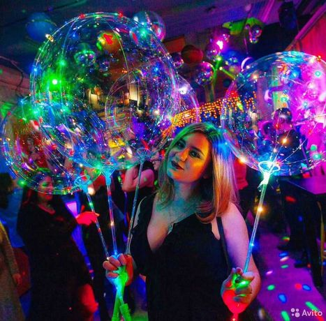 Светящиеся Шары Bobo оптом!Светящиеся LED шары! LED шар BOBO!