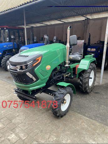 Mini Tractor LIDER 22 cai Cu Freza si Plug