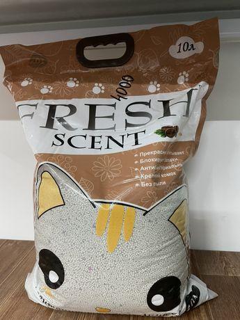Наполнитель Fresh с запахом Кофе 10L