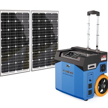 Troller Solar Portabil de iluminat