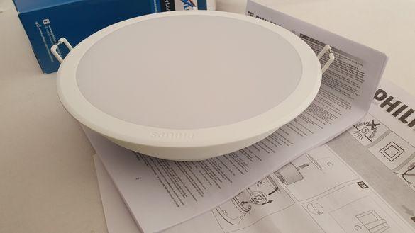 Philips LED панел 17W 4000 K, Нови, Гаранция