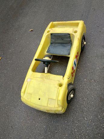 Ретро детска кола с педали Porsche 914
