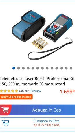 Vand Telemetru  cu laser Bosh Professional