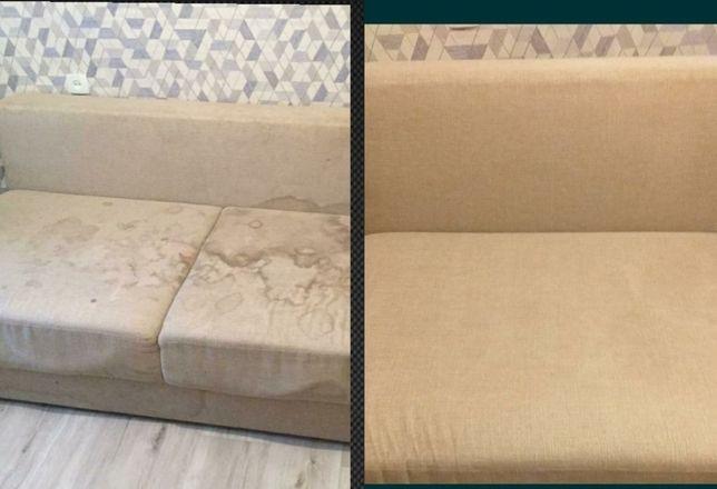Химчистка мягкой мебели % Скидка