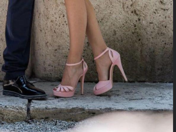 Sandale Veronesse roz pal cununie