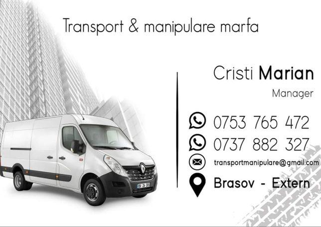 Transport marfa,mutari,debarasare,moloz,materiale,montaj mobila 24/7