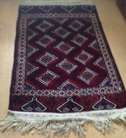 ПРОДАЮ винтажный туркменский ковер ручной работы
