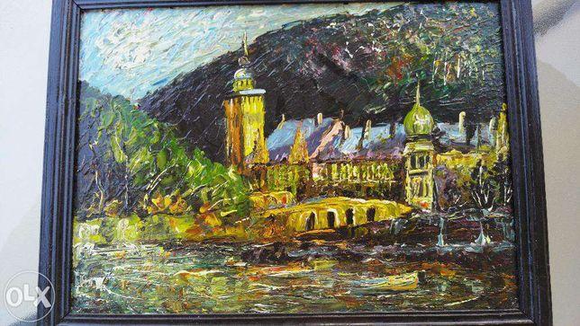 tablou pictor contemporan scoala de la oradea in ulei