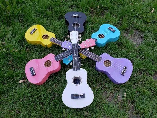 Цветная укулеле Palmer UK-21 сопрано. Акция!!! Бесплатная доставка.