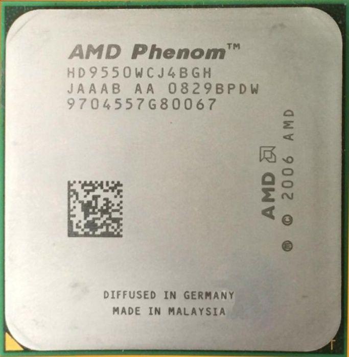 AMD Phenom X4 9500 или 9550 /2.2GHz/