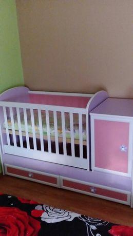 Бебешко легло 3в1