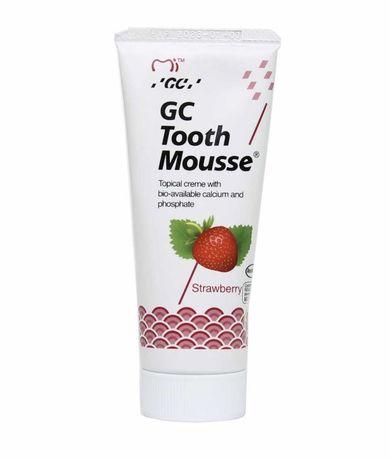 Зубной гель Tooth Mousse Тус Мусс от кариеса клубника, 35 мл Америка
