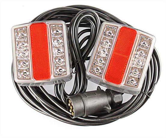 LED стопове пет функции за ремаркета и колесари с магнит и кабел