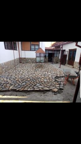 Pavaj cu piatra diferite noante