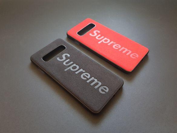 Кожен Калъф Кейс SUPREME за Galaxy S10, S10 Plus, Note 10, Note 10+