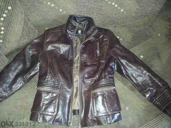 дамско кожено яке -естествена кожа