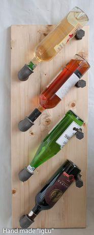 Suport sticle de vin pentru 4 sticle