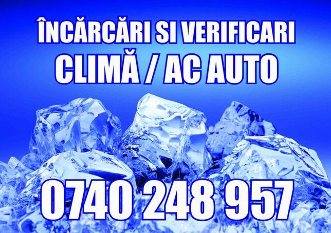 Incarcari freon/ac, clima, aer conditionat AUTO/UTILAJE 134a/1234 YF