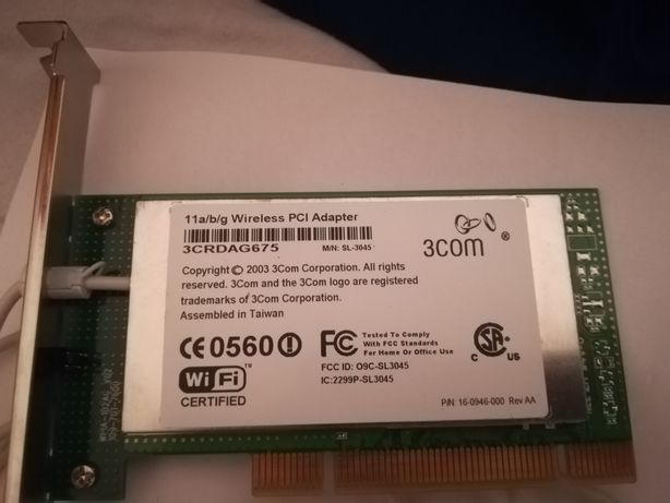 Placa Wireless PCI