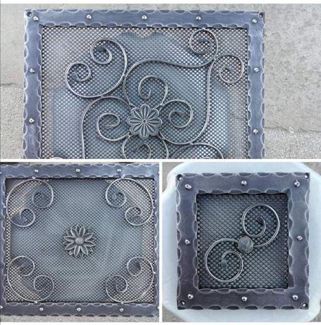 Декоративни решетки за камини, горещ въздух