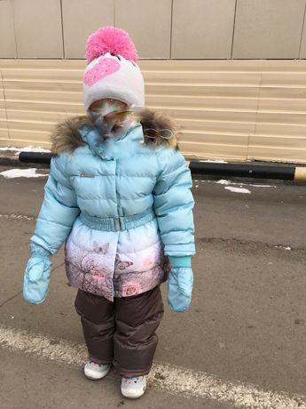 Продаётся зимний костюм на пуху-покупали за 60000 тенге.очень теплый
