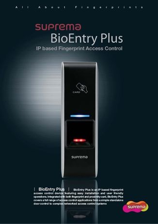 Control acces BioStation