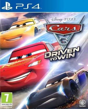 Cars 3: Driven to Win (PS4)   Игра  Playstation 4  PS4  TV  Нова