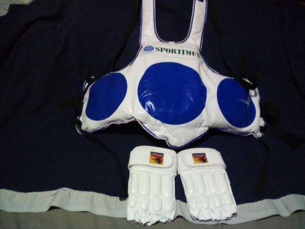 Echipament protectie sporturi de contact,protectie corp,mănuși,tibiere