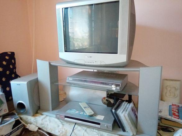 Телевизор и дивиди