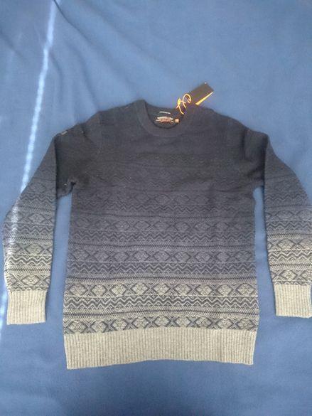 Оригинален пуловер Superdry Размер L.