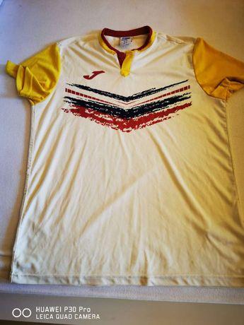 Спортна тениска Joma, бежова, размер М!