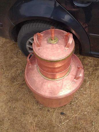Vand cazane de tuica din cupru (arama), orice marime disponibila