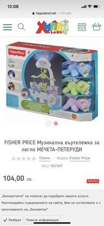 Fisher price музикална въртележка