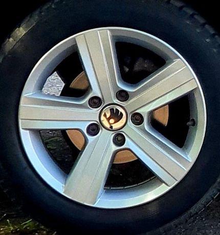 Jante aliaj originale Volkswagen Golf 7 ~ R 16 ~ 5x112 ~ Skoda,Seat