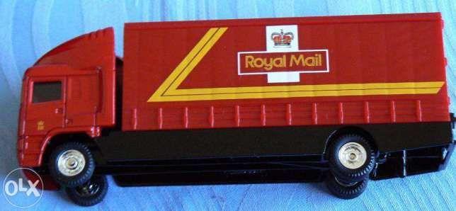 Macheta Corgi noua camion posta Royal Mail 2000 Colectia Millenium
