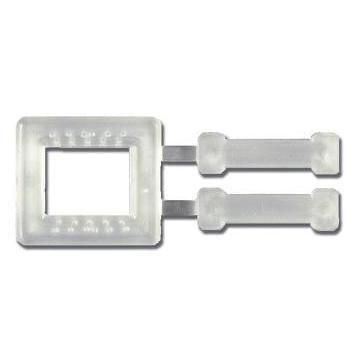 Cleme catarame bucle plastic pentru legare banda PP + livrare gratuita