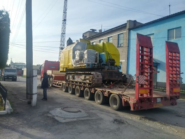 Трал услуга перевозка 60 тон