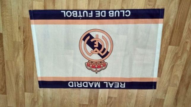 Реал Мадрид Real Madrid флаг ткань 40х60 см