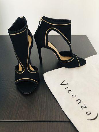 Елегантни дамски обувки, естествена кожа! Номер 36.