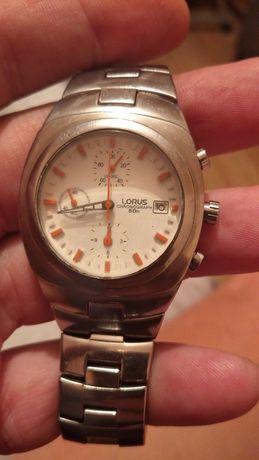 Lorus cronograf steel