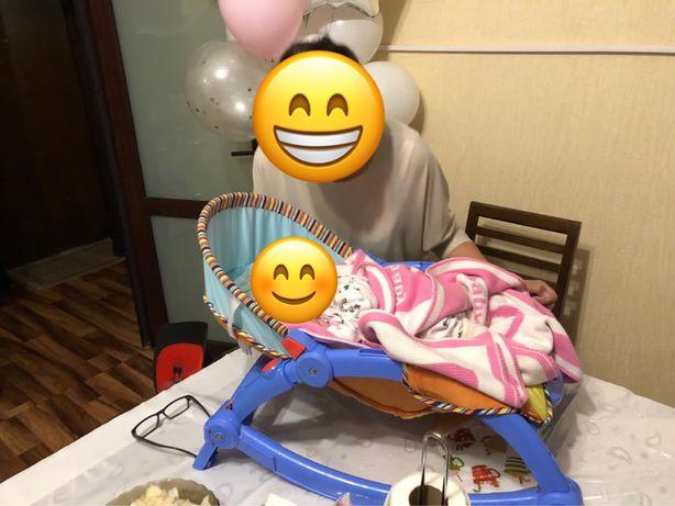 Кресло качелька детская