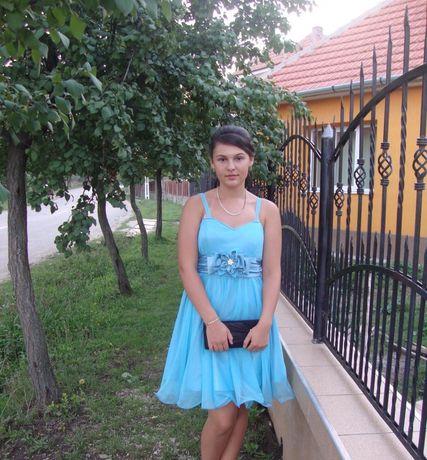 Rochiță albastră- 2x la preț de una