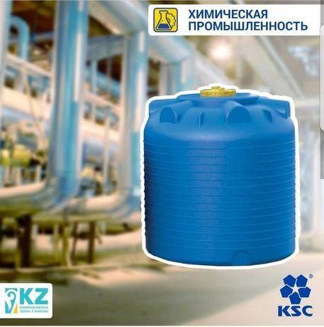 Емкость для воды, резервуар, бочка от 300л-25000л бесп.доставка