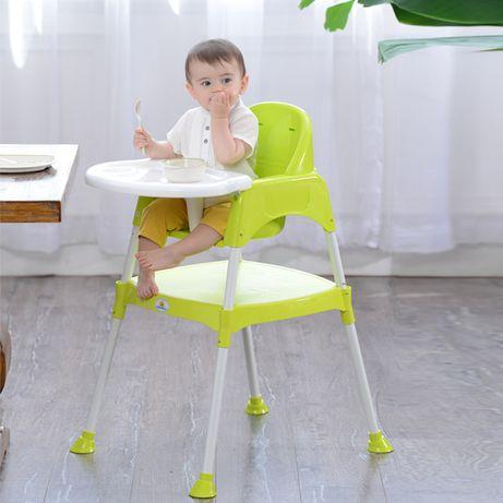 Scaun de masa bebe multifunctional transformabil in birou